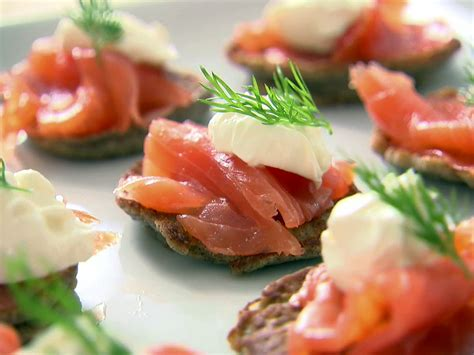 Instagram Ina Garten by Blinis With Creme Fraiche And Smoked Salmon Recipe Ina
