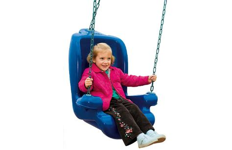 accessible swing seat commercial playground equipment one for all swing seat