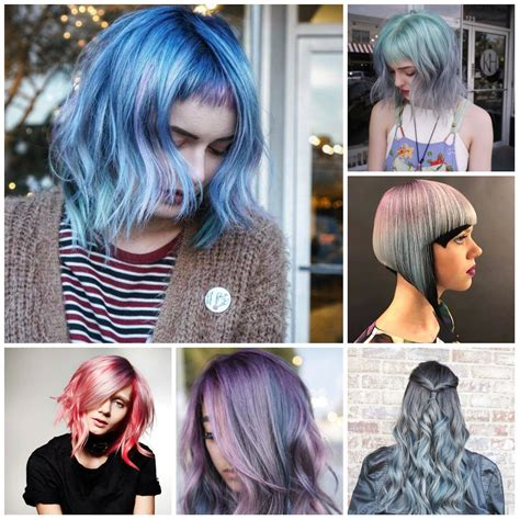 multi color hairstyles multi colored hairstyles for 2018 best hair color ideas