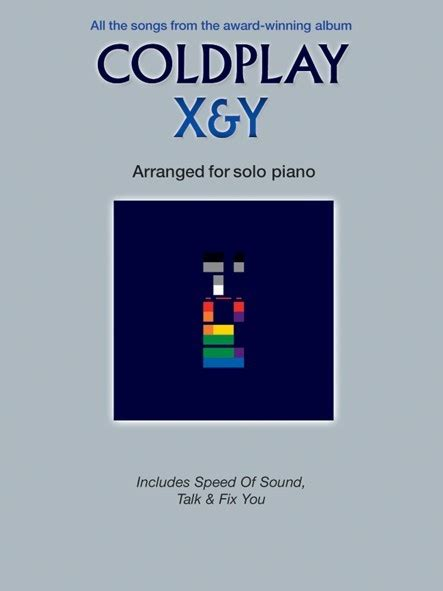 coldplay instrumental coldplay x y piano solo sheet music from music exchange