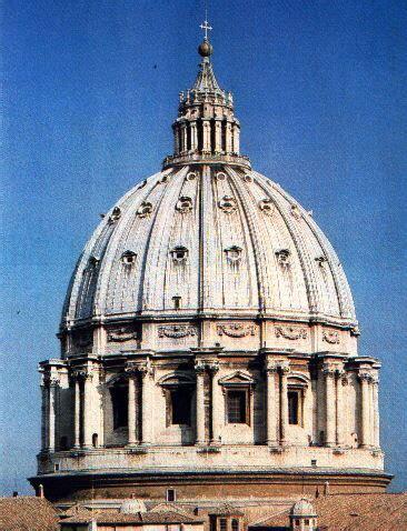 chi ha progettato la cupola di san pietro fuochi di paglia