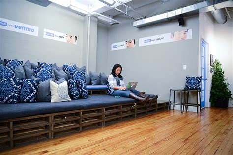 stadium seating couches living room homepolish designs offices for startups business insider