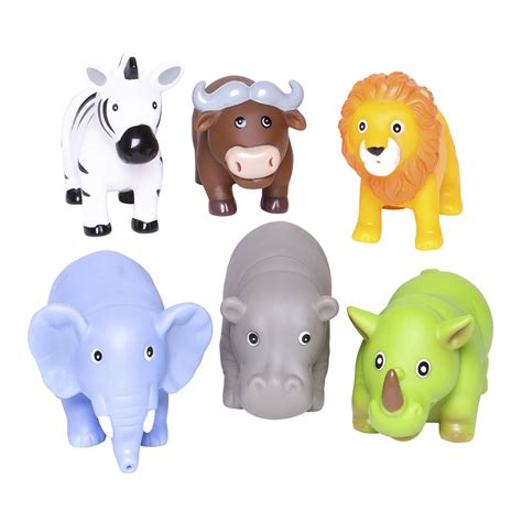 Animal Baby Toys by Squirties Jungle Animal Bath Toys Baby