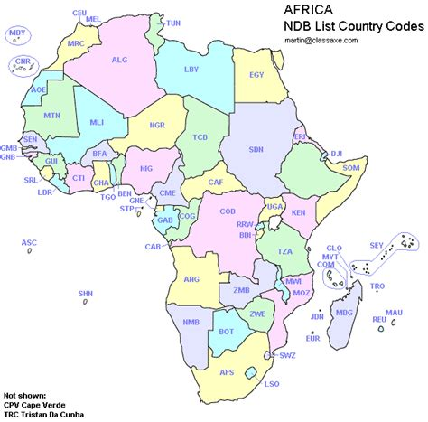 africa with code reu gt maps