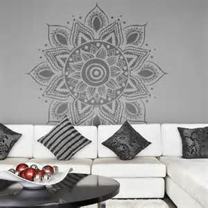 Decor Wall Stickers sticker deco fleur mandala
