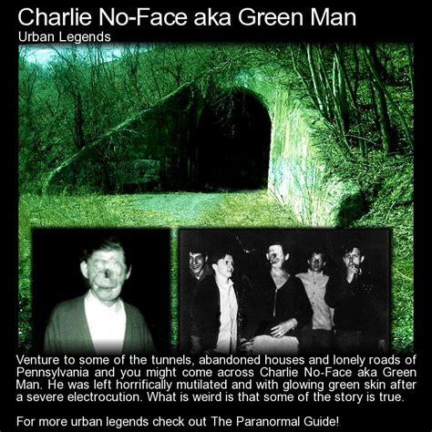 Green Man Meme - charlie no face aka green man it would take a fair amount