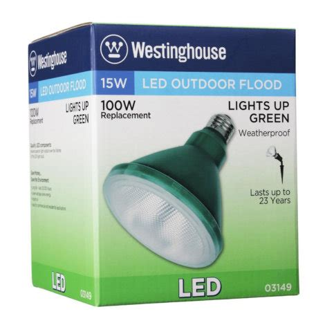 par38 green led flood light westinghouse 15 watt par38 led outdoor flood light bulb
