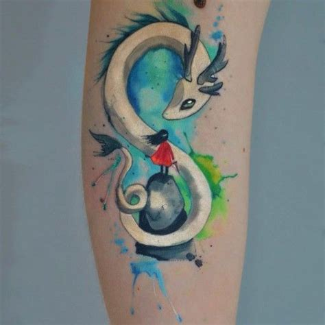 magic dragon tattoo 236 best watercolor tattoos images on