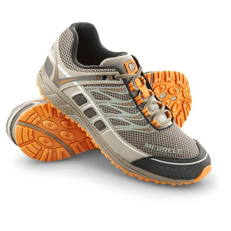 merrell running shoes review s merrell 174 mix master tuff shoes boulder brindle