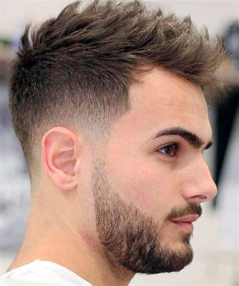 short blended hairstyls blended fade haircut for men f pinterest fade