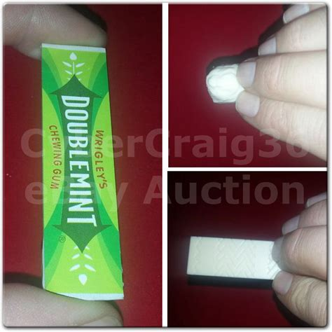 Restored Chewing Gum chewed restored chewing gum sweet bar magic chew