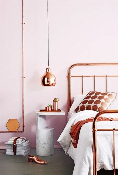 copper room decor bring in the bling 20 ways to embrace the metallic trend