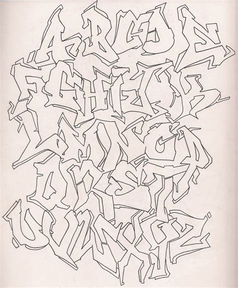 tattoo font outline graffiti alphabet outline by donnasprockets on deviantart