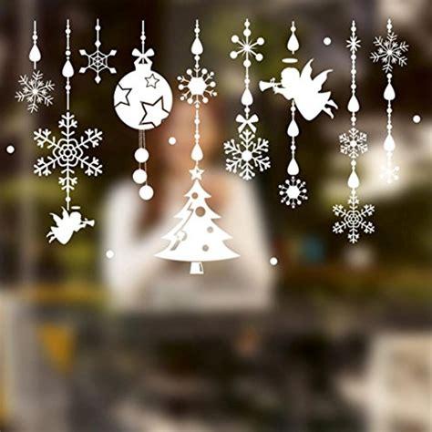 Fensterbilder Weihnachten Kreidestift Vorlagen by Wandtattoo Weihnachten Schneeflocke