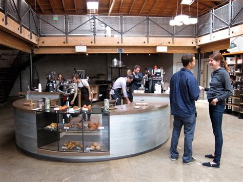 Photos of Recently Opened Sightglass Coffee Roasters In San Francisco