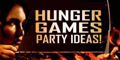 themes in hunger games book hunger games party ideas and games