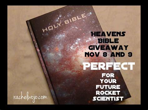 Bible Giveaway - heavens bible giveaway rachelwojo com