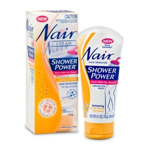 Nair Shower Power by Nair Shower Power Exfoliating Hair Remover