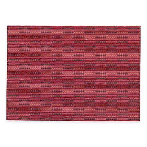 bed bath and beyond placemats miles woven placemat in red bed bath beyond