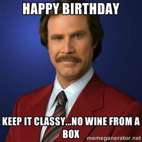Wine Birthday Meme - happy birthday meme wine bing images