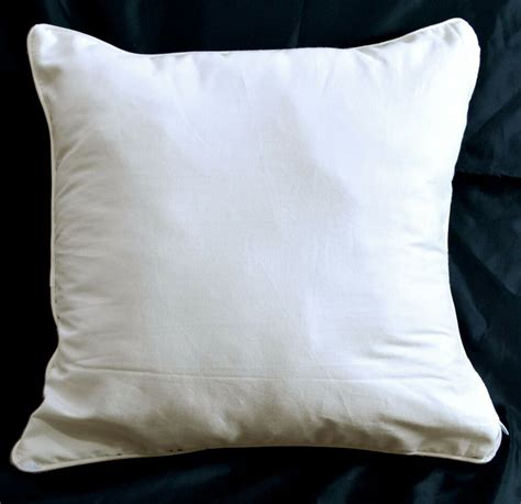 Pillow Cas - rc101a white bedding cotton cushion cover