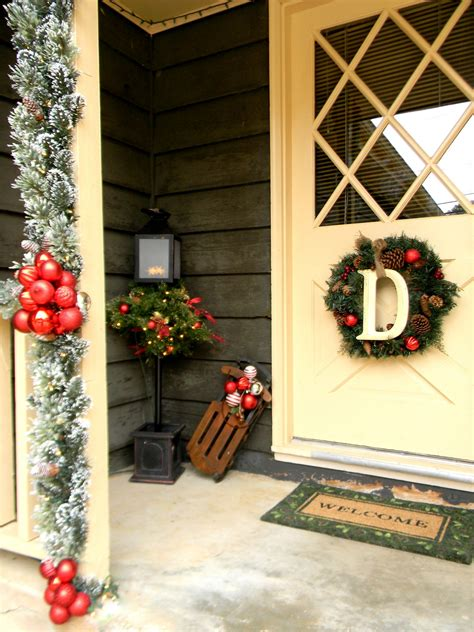 home depot ideas decoration front porch christmas decorating ideas country christmas