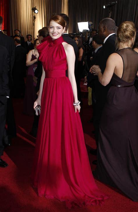 emma stone dress emma stone dress at oscar awards 2012
