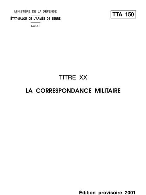 Lettre De Présentation Nouvelle Affectation Modele Lettre Militaire Nouvelle Affectation Document