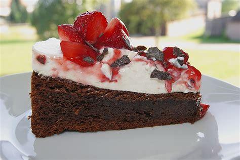 schoko erdbeer kuchen schoko erdbeer kuchen rezepte suchen