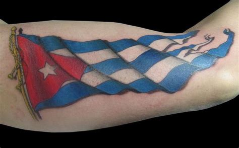 cuba tattoo cuban flag tattoos net badass tattoos