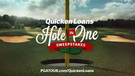 Pga Tour Hole In One Sweepstakes - quicken loans tv spot hole in one sweepstakes ispot tv