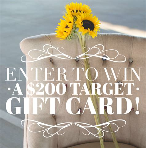 Where Can I Buy Target Gift Cards Other Than Target - 200 target gift card giveaway ends 10 4