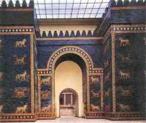 le porte di babilonia museo pergamon berlino settemuse it