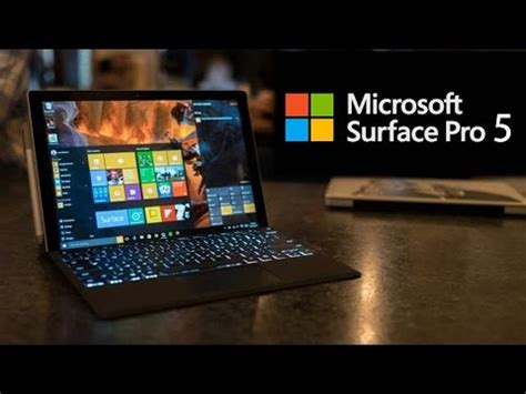Microsoft Surface Pro 5 surface pro 5 everything we so far 2016