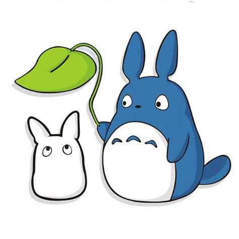 Sticker Small totoro figurine small stickers for room 2016 new