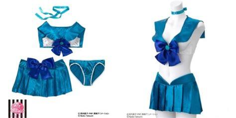 Celana Sailor Dan Laserra saking lakunya pakaian dalam sailor moon diproduksi kembali