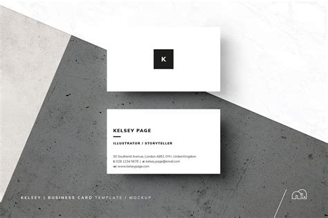 black and white name card template business card kelsey business card templates