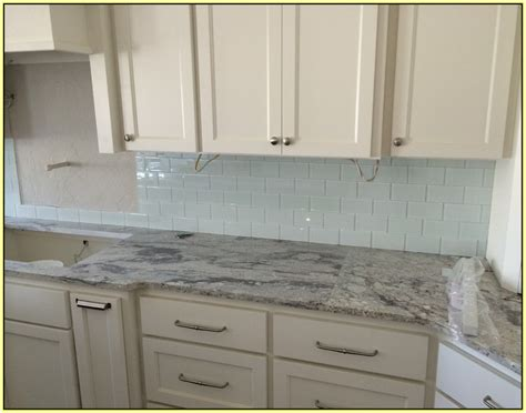 clear glass mosaic tile backsplash home design ideas