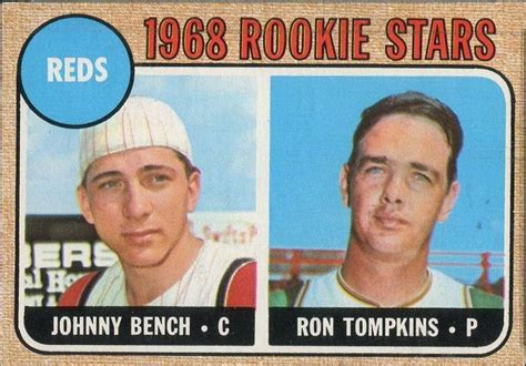 johnny bench rookie rarest psa 9 1960s baseball hall of fame rookie cards