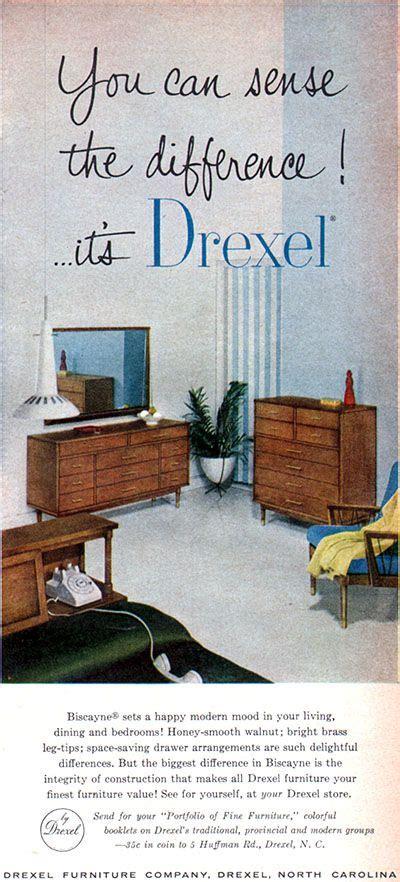 drexel furniture biscayne mid century modern sense