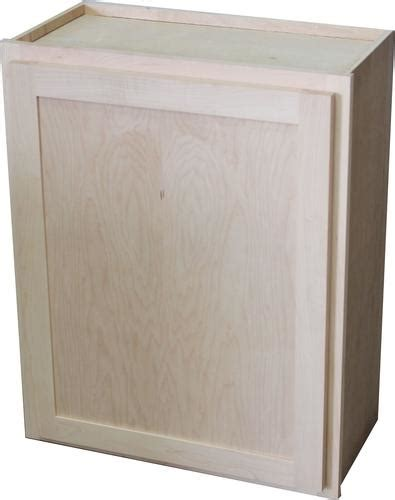 Quality One Cabinets by Quality One 18 Quot X 30 Quot Unfinished Maple Standard Wall