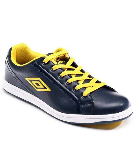 buy umbro navy yellow cathlone casual shoes for