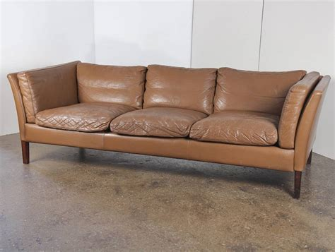 1960s modern leather sofa at 1stdibs