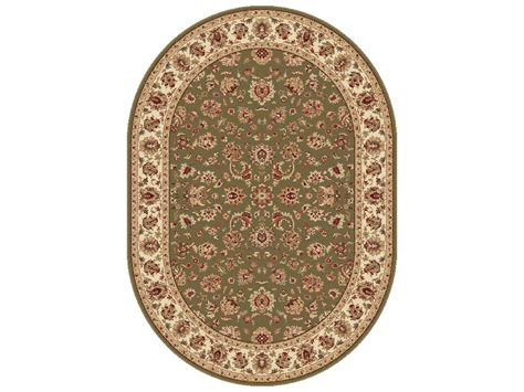 oval accent rugs tayse rugs elegance davenport oval green area rug