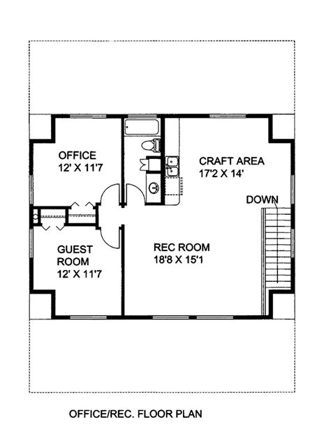 house plan 1978 2 bedrm 1978 sq ft cottage house plan 132 1666