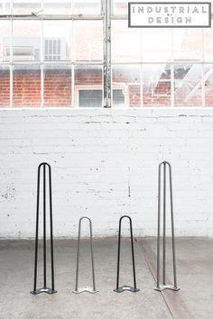 places  buy metal hairpin table legs raw steel