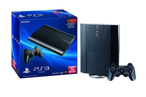 ps3 console 12gb 12gb sony playstation 3 the awesomer