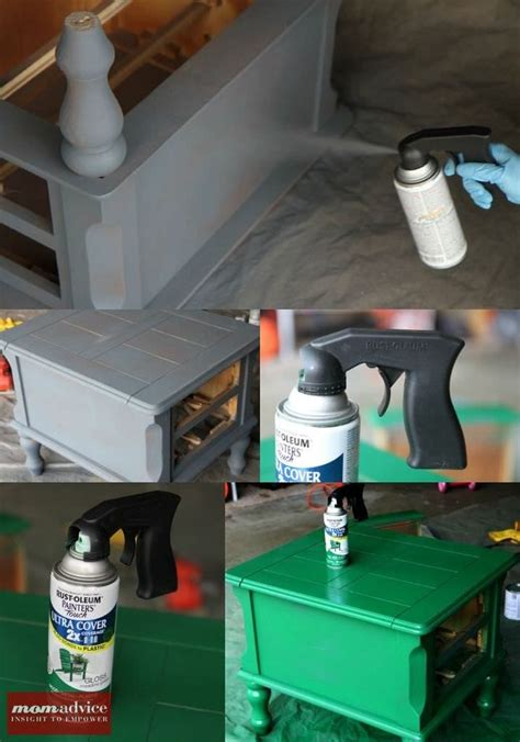 spray painter diy how to spray paint furniture momadvice