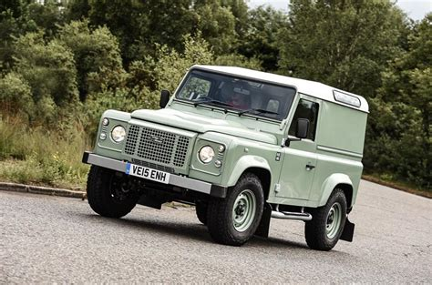 white land rover defender 90 2015 land rover defender 90 heritage uk review review