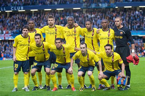 chelsea vs barcelona 2009 european football uefa chions league semi final 2nd